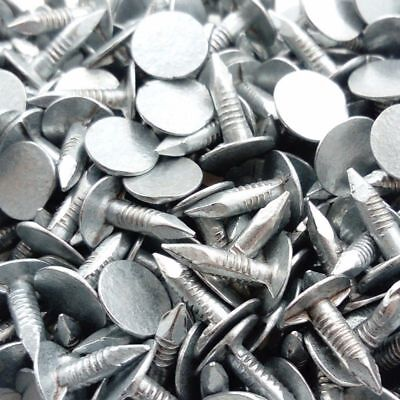 100g Felt Nails 15mm Galvanised Roofing Shed Hutch Kennel Tack Clout Head  • 5.99£
