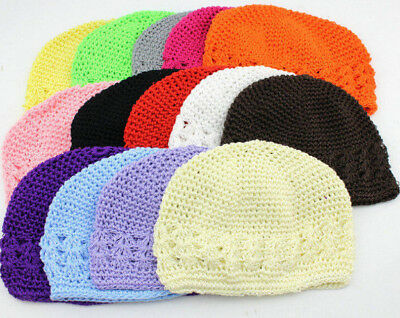 £1.79 • Buy Kufi Knit Crochet Cap For Infant & Toddler, New, Many Colors, Soft, Low Price!