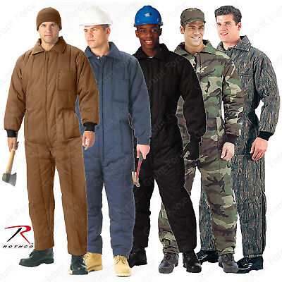 $88.99 • Buy Rothco Heavyweight Insulated Coveralls - One-Piece Winter Work Jumpsuits