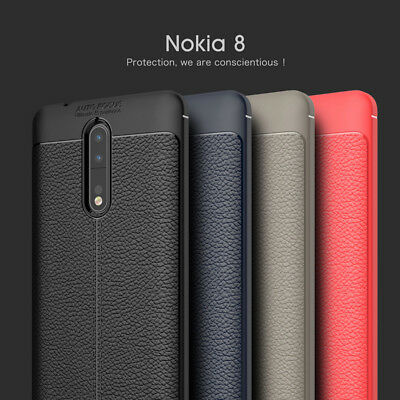 AU10.99 • Buy Shockproof Leather Soft TPU Case Cover For Nokia 1/ 2 / 3 /5/ 8/ 7 Plus / 6 2018