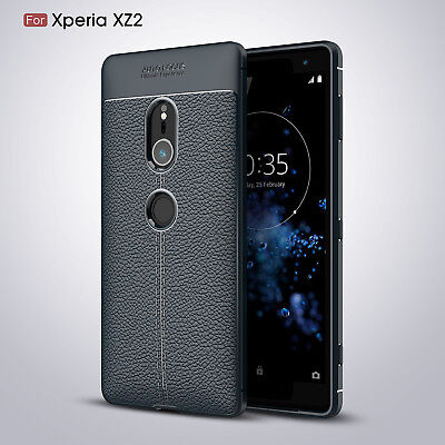 AU5.33 • Buy Sony Xperia XZ3 / XZ2 Case Full Protective Soft TPU Leather Bumper Pattern Cover