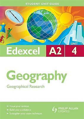 £3 • Buy Edexcel A2 Geography: Geographical Research: Unit 4 By Dave Holmes, Kim Adams...