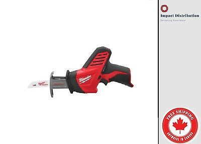 $ CDN111.99 • Buy New Milwaukee M12 12-Volt Hackzall Recip Saw (2420-20) (Tool Only - No Battery)