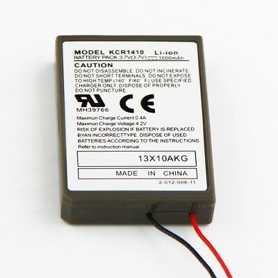 AU20.60 • Buy 2x PS4 2000mAh 3.7V Battery Replacement For Sony PS4 DualShock 4 Controller