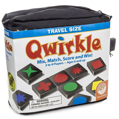 $ CDN30 • Buy Travel Size Qwirkle Logic And Strategy Family Game