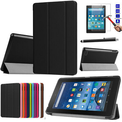 Smart Leather Tablet Stand Flip Cover Case For Amazon Kindle Fire HD 8/ HD10 9th • 8.19£