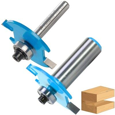 £10.09 • Buy TUNGSTEN CARBIDE BISCUIT ROUTER BITS 1/2  1/4  Shank 10 & 20 Wood Cutter Slot