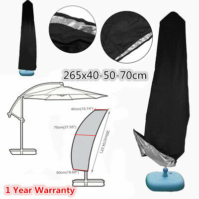 AU20.95 • Buy Durable Outdoor Banana Umbrella Cover Garden Patio Cantilever Parasol Protective
