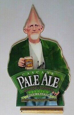 $ CDN53.62 • Buy RARE Stevens Point Pale Ale Cone Head Acrylic Mirrored Style Beer Sign