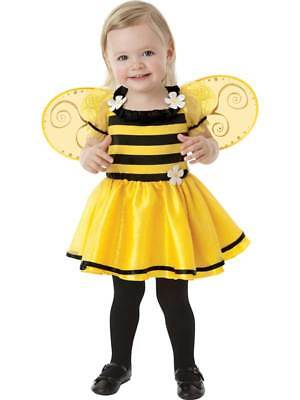 £12.99 • Buy Girls Little Stinger Bumble Bee Baby Costume 0-36 Months Fancy Dress Outfit