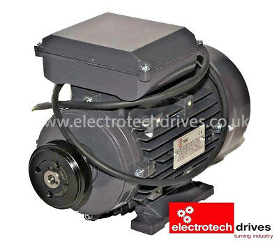£193.99 • Buy 3HP Air Compressor Electric Motor 2.2KW 2800rpm 2 Pole 240v With Pully And Lead