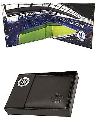 Chelsea Fc Real Leather Football Sports Team Money Stadium Wallet Purse Cfc Gift • 16.95£