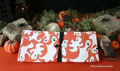 $49.95 • Buy Crate & Barrel Ghosts Table Runner -nwt- Spruce Up Your Food Service With Spirit
