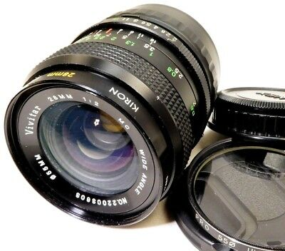 $ CDN146.89 • Buy Vivitar 28mm F2.0 Manual Focus LENS Sony E Mount Cameras ILCE A6000 A6300 NEX