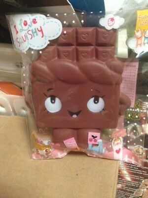 AU18 • Buy Jumbo  Soft Squishes Squishy Slow Rising Chocolate Scented Anti Stress Gift Bag