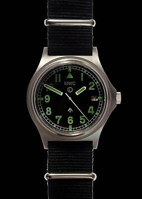 MWC G10 300m Water Resistant Ltd Edition Brushed Steel Automatic Military Watch • 210£
