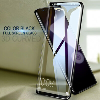 $ CDN4.79 • Buy For Samsung Galaxy S20 S9 S8 Plus 3D Curved Tempered Glass Film Screen Protector