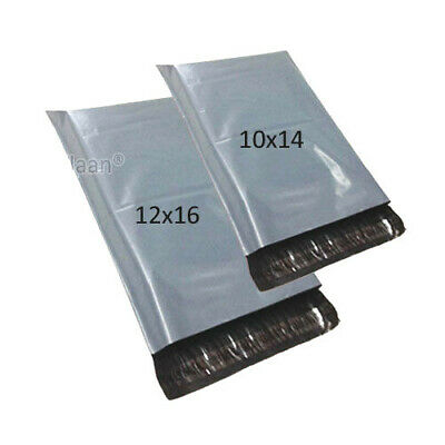 £4.99 • Buy 50 MIXED MAILING BAGS GREY PARCEL PACKAGING 12 X 16 And 10 X 14 Cheapest By Far!