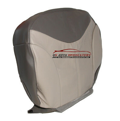 $129.99 • Buy 2002 GMC Yukon Sierra Driver Side Bottom LEATHER Seat Cover 2 Tone Special