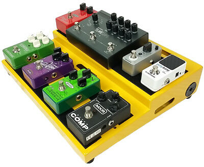 $ CDN172.96 • Buy  Accel XTA15 Guitar Effects Pedal Board (Yellow) Without Case