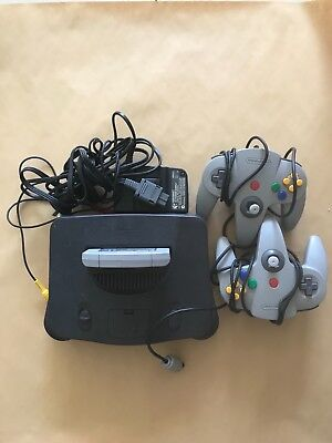 AU300 • Buy Nintendo 64 Console With 2 Controllers