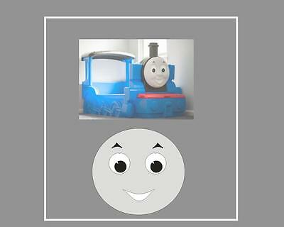 £6.50 • Buy Little Tikes Thomas The Tank Engine Bed  Mouth Eyebrow & Eye Stickers & 2 X No1s