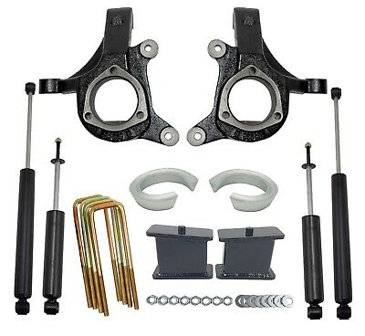 $479 • Buy 5  Lift Kit Chevy 1999-06 1500 2wd Truck 3  Spindles 2  Spacers 3  Blocks Shocks
