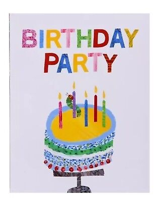 10x Hungry Caterpillar Birthday Party Invitations 1,2,3 Year Old Parties • 3.49£
