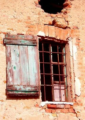 Window, Italy, New Photo Fine Art Print, Size 7 X 5, Matted 10 X 8 • 9.23£