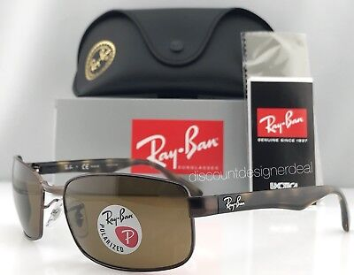 c8b51d6155 Ray-Ban RB3478 Polarized Sunglasses 014 57 Brown Havana Brown Brand New 60mm