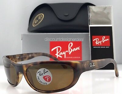 c3db74d4bd3 Ray-Ban Predator RB4033 Sunglasses Havana Brown 642 47 POLARIZED B-15 Brown