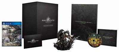 AU287.11 • Buy PS4 Monster Hunter World Collector's Edition DLC PlayStation 4 From JAPAN