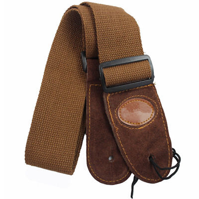 AU14.50 • Buy Guitar Strap ( Brown ) Acoustic Electric Bass Guitar ( NEW )