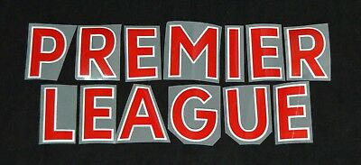 £1 • Buy Official Premier League 2018/19 Red Letter Name For Football Shirts