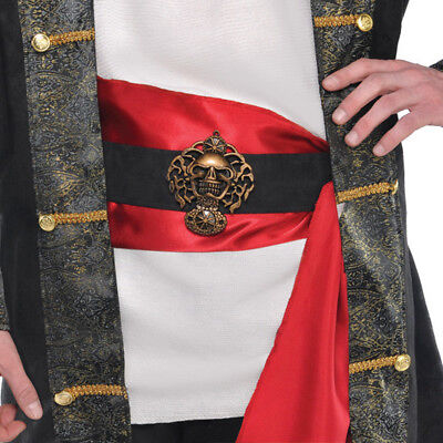 Buccaneer Pirate Belt With Sash Adult Costume Accessory, One Size • 5.71£