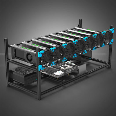 Bitcoin Mining Rig - 1 Gpu, Alt Coins, Pro Crypto Currency Miner *bit Punisher* • 1,395$
