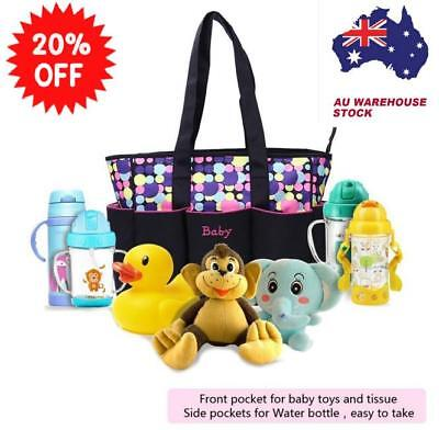 AU16.99 • Buy Multifunctional Baby Diaper Backpack Changing Waterproof Large Bag Nappy Mummy