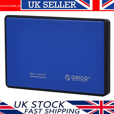 £7.99 • Buy ORICO 2.5  Inch USB 3.0 To SATA External Hard Drive HDD/SSD Enclosure Caddy Case