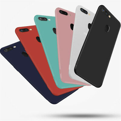 AU3.41 • Buy Silicone Rubber Frosted TPU Cover Case For OPPO F9 F7 F5 A59 A73 A83 R15 R17 Pro