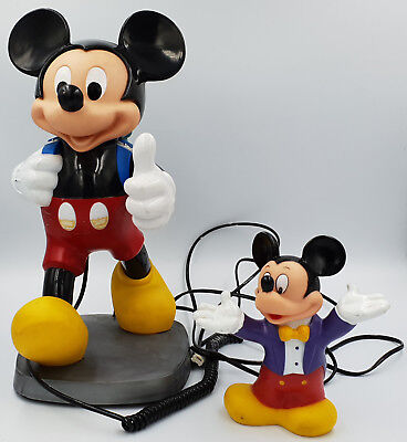 £75 • Buy Disney : Mickey Mouse Money Bank / Mickey Mouse Telephone (sk)
