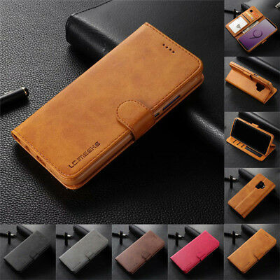 $ CDN7.56 • Buy For Samsung Note 20 Ultra S21 Plus S10E Case Flip Magnetic Leather Wallet Cover