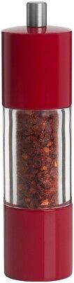 £20.53 • Buy Trudeau 0716222 Red Chili Pepper Mill Grinder