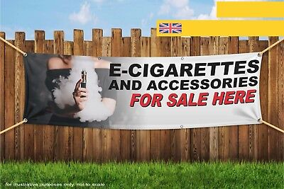$ CDN126.35 • Buy E-Cig And Accessories Sold Here Vape Woman Heavy Duty PVC Banner Sign 3608
