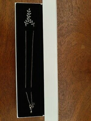 AU75 • Buy Pandora 'Leaf' Necklace - Unused And In Perfect Condition - Unwanted Gift