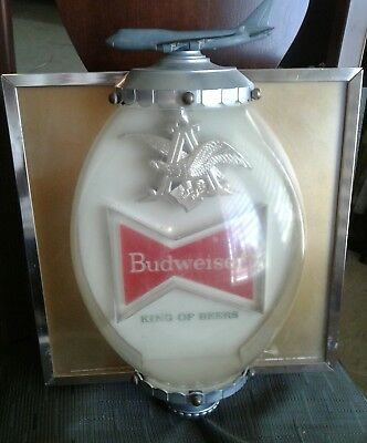 $ CDN1041.25 • Buy Rare Vintage 60s Budweiser Beer Lighted Sign