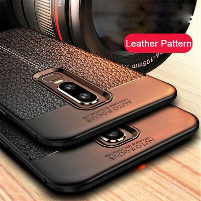 AU5.63 • Buy For OnePlus 7T 7 Pro 6 6T 5T Shockproof Rubber Soft TPU Leather Slim Case Cover