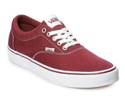 2260d58393ba VANS Doheny Maroon Red+White Mens Athletic Sneakers Casual Skate Shoes NEW  • 38.25