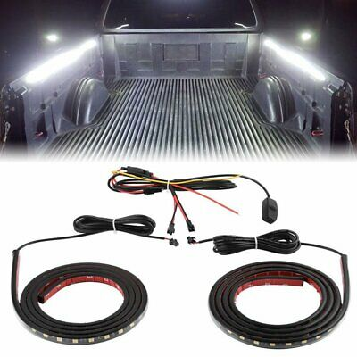 $26.99 • Buy 2x 60  Led Bar Truck Bed Cargo Work Lighting Kit Strips For Chevy Ford Dodge Gmc