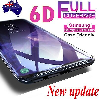 $ CDN2.84 • Buy For Samsung Galaxy S9 S8 Plus Note 8 Full Cover Tempered Glass Screen Protector