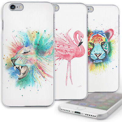 AU12.61 • Buy Multicolour Tiger Phone Case Lion Cat Art Print Hard Cover For Oppo F5,f7,find X